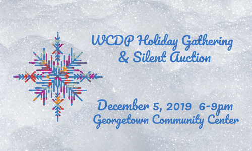 Holiday Gathering & Silent Auction: 12/05