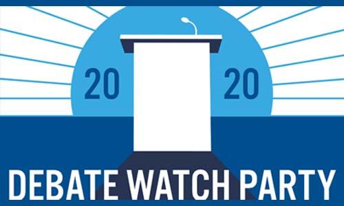 Debate Watch Party: 11/20