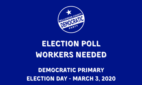 ELECTION POLL WORKERS NEEDED