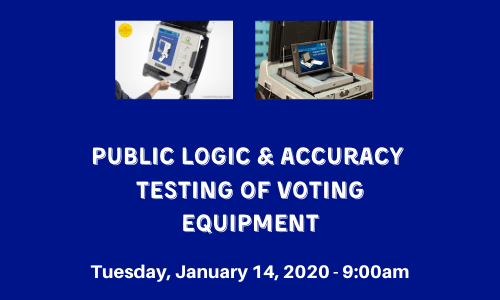 Public L&A Testing of Voting Equipment