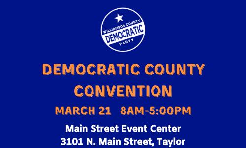 Williamson County 2020 Democratic Convention