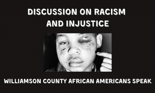 Discussion on Racism and Injustice