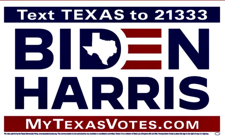 Biden Harris Signs Have Arrived!