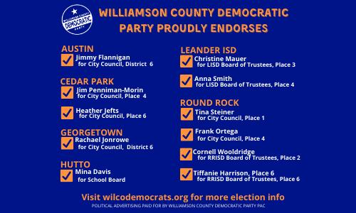 WCDP Endorsements